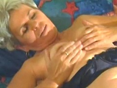 Grandma enjoys oral w her old lover