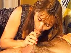 Seamstress blowing client