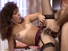 Hot milf get cum on pussy after sex