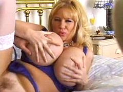 Sex adventure with big breasted mom