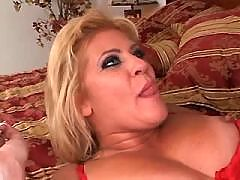 Guy fucks blonde wife in her big ass